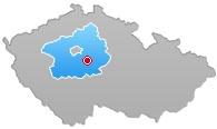 Struhařov - mapa ČR