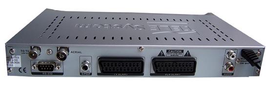 TELE System TS6.5DT zezadu