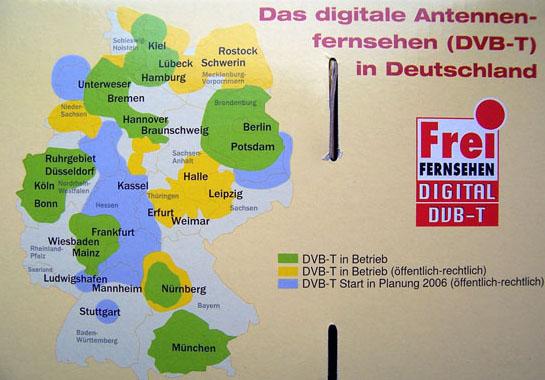 TechniSat Digit mapa