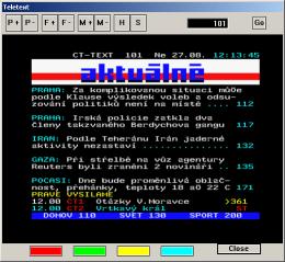 Yakumo Basic teletext
