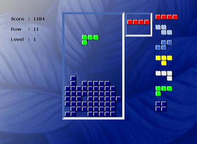 Sigmatek DVBX-120 Tetris