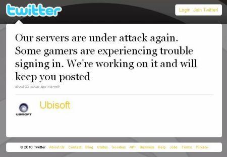Ubisoft Twitter
