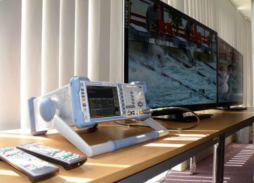 Televizory a měřák DVB-T2