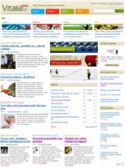 Vitalia.cz-screenshot