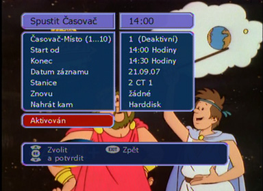 WISI OR 27 casovac