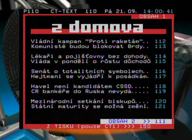 WISI OR 27 teletext