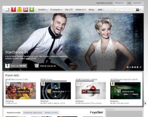 ČT - homepage webu od 1.1.2011