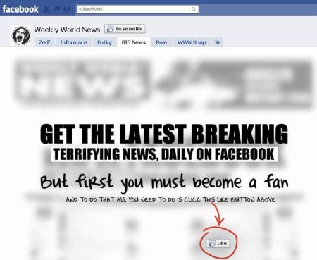 Facebook - Weekly World News