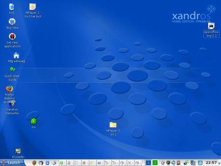 Xandros desktop
