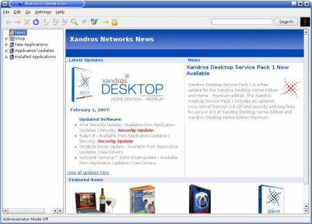 Xandros networks 2