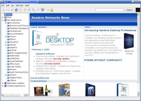 Xandros networks 3