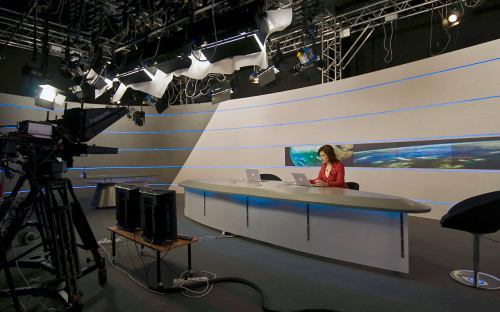 Televize Z1 - studio