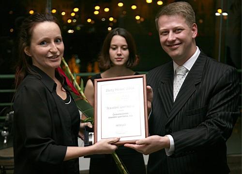 Zlatý Měšec 2006 - Českomoravská stavební spořitelna