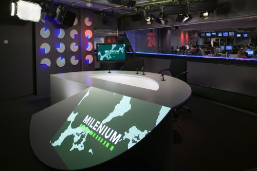 Studio ČT + projekční stůl