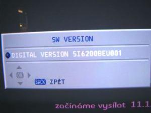 Sencor STV 2112DVBT - info firmware