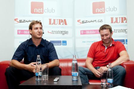 NetClub září 2009 - Jan a Petr Staňkovi