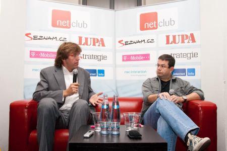 NetClub červen 2009 - Petr Koubský a Miloš Čermák