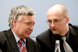 Ivo Ferkl s chlapem