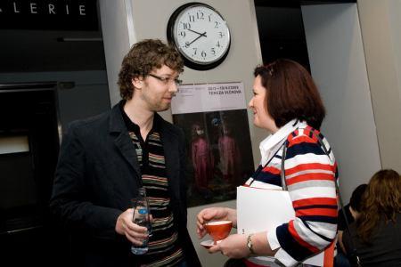 Tomáš Kapalín a Rita Gabrielová - NetClub duben 2009