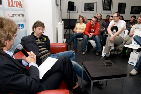 NetClub duben, pohled do publika