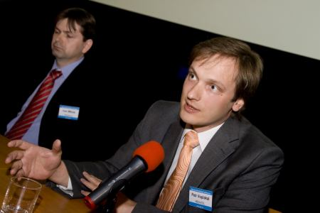 Petr Voplakal z Mediatelu na IAC 2009
