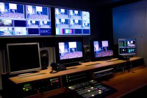 TV Barrandov odbavovací pracoviště