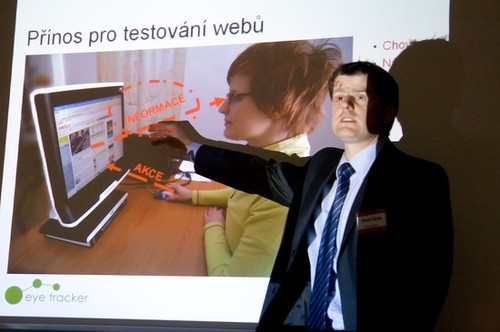 Pavel Fáček (EyeTracker) na 3. klubovém večeru WebTop100