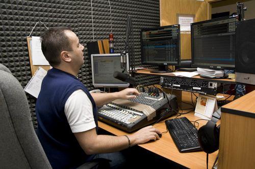 Dance radio studio