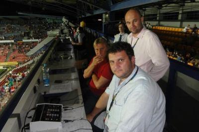 Jaroslav Šišolák - přenos zápasu Sparty z Rumunska