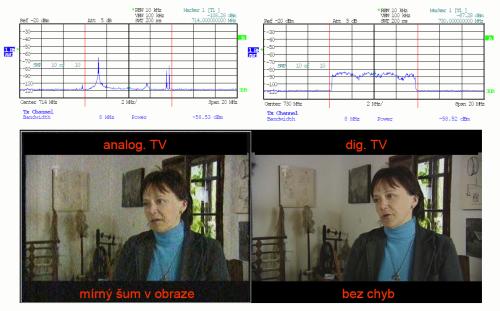 Ulovec - analog vs. DVB-T - 3