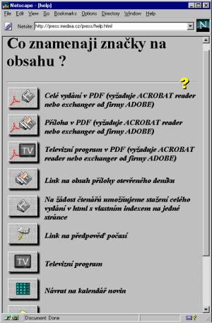 Nabidka PDF verzi na serveru Medea
