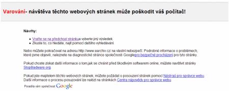 Google varovani