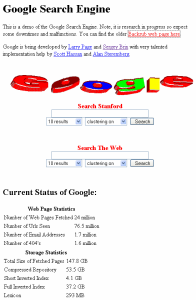 Google HP 1997