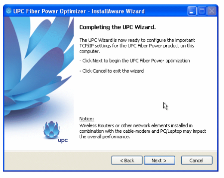 UPC optimizer
