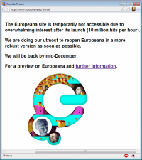 europeana no-entry