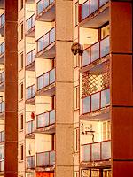 Balkony sídliště I.