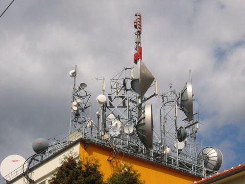Vysílač Brno - Barvičova před výměnou antény