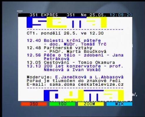 Topfield TF7700 HSCI teletext