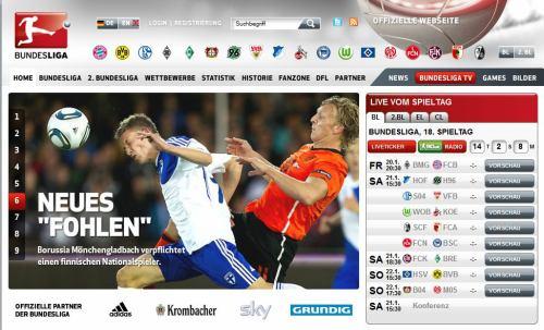 Bundesliga - web