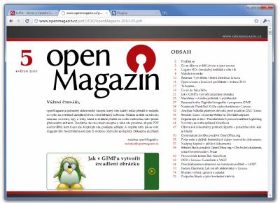 Chrome 6 - prohlížení PDF