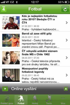 ČT 4 - iPhone - 1