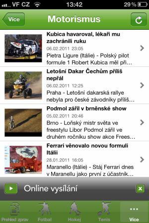 ČT 4 - iPhone - 5
