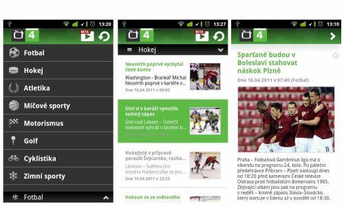 ČT 4 - Android