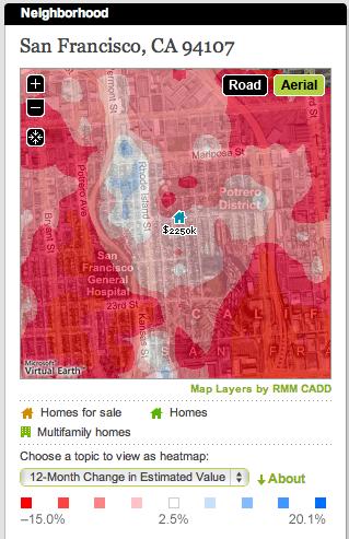 Cyberhomes ceny mapa