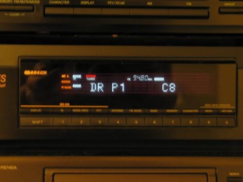RDS dánského rádia DR P1