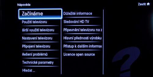 Philips Econova 42PFL6805H elektronická přiručka