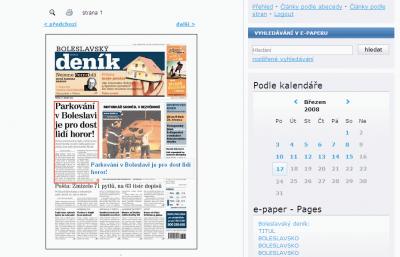 E-paper - Deník