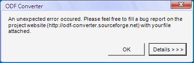 ODF plugin do MS Office