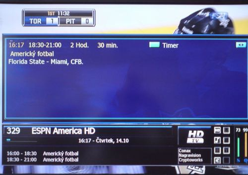 ESPN America - EPG UPC