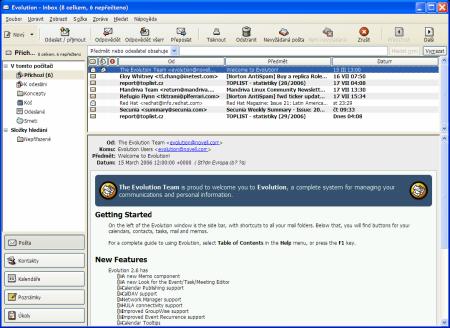 Evolution pro Windows 1